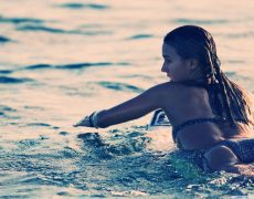 Surfing girl of year