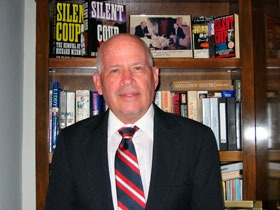 Len Colodny, author of Silent Coup, and The Forty Years War