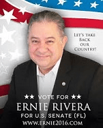 Ernie Rivera Republican candidate for US Senate for the State of Florida