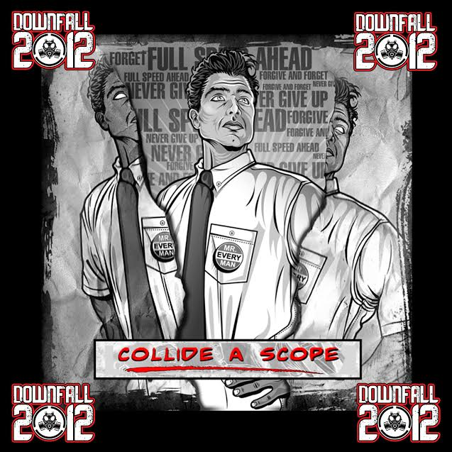 """Downfall 2012 release new song """"Collide a Scope"""""""
