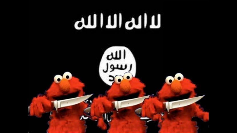 ELMO MEETS ISIS AND THEIR CHILDREN…